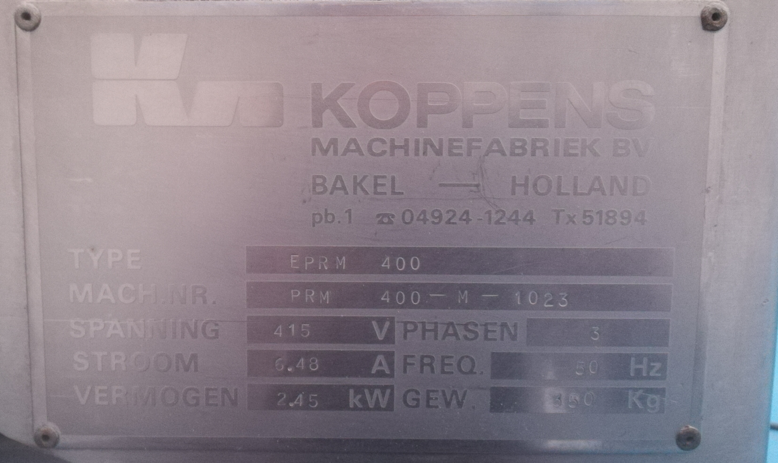 KOPPENS ERP400