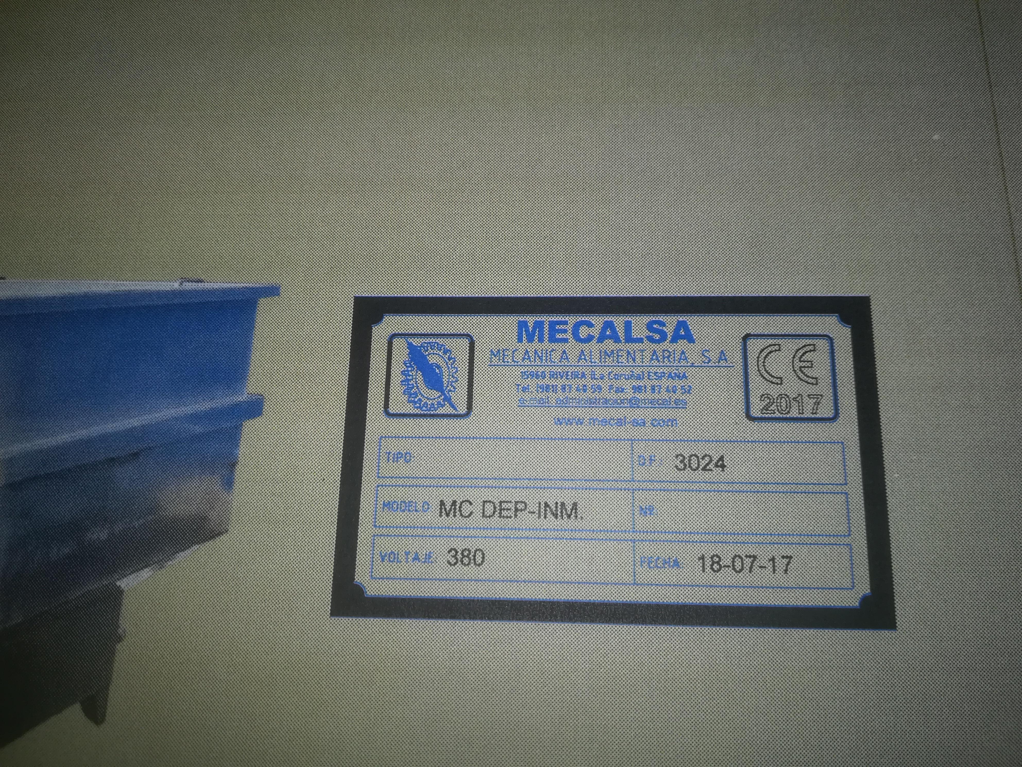 MECALSA MC DEP-INM